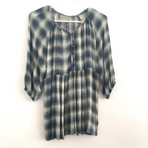 Maeve Anthropologie Button Down Blouse Size XS